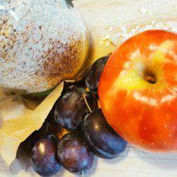Apfel-Pflaume-Haferflocken-Brei Zutaten