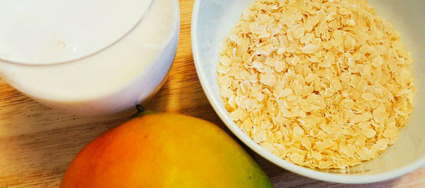 Milchreis mit Mango