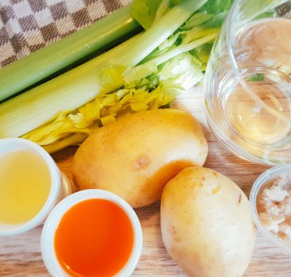 Sellerie-Kartoffel-Geflügelhack-Brei Zutaten