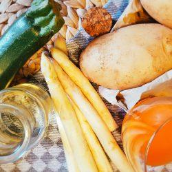 Spargel-Zucchini-Kartoffel-Brei Zutaten
