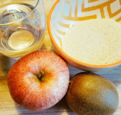 Apfel-Kiwi-Griess-Brei Zutaten