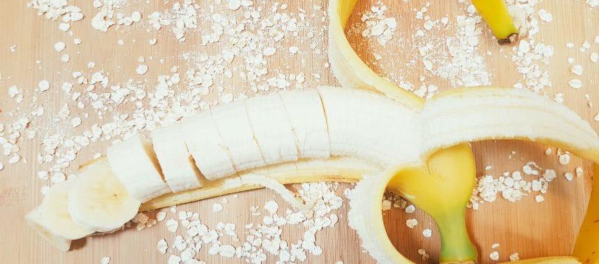 Erdbeer-Bananen-Porridge