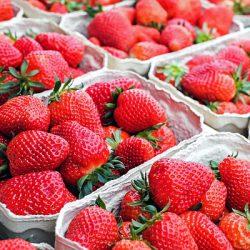Erdbeermus