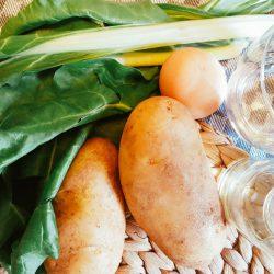 Mangold-Kartoffel-Ei-Brei Zutaten
