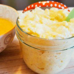 Milchreis mit Mango fertig