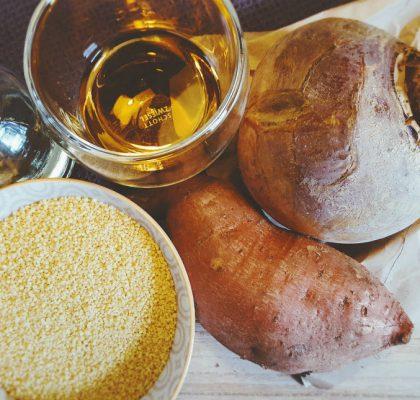 Steckrübe-Süßkartoffel-Couscous-Brei Zutaten