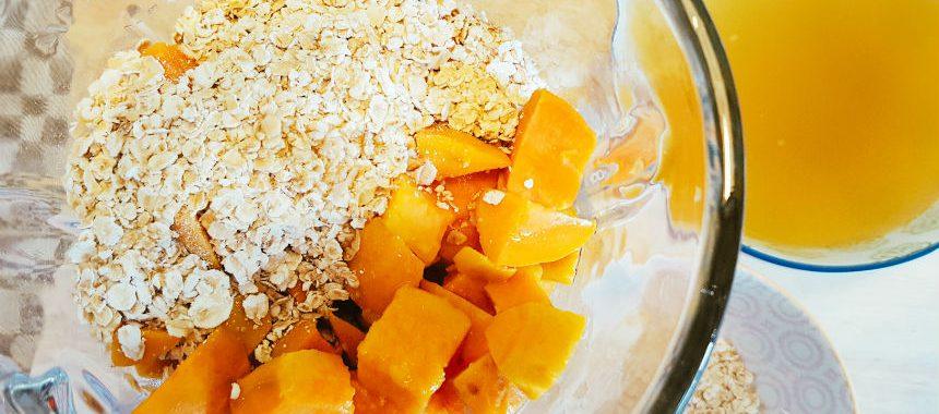 Süßkartoffel-Haferbrei